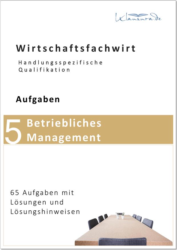 Aufgaben Betriebliches Management WFW