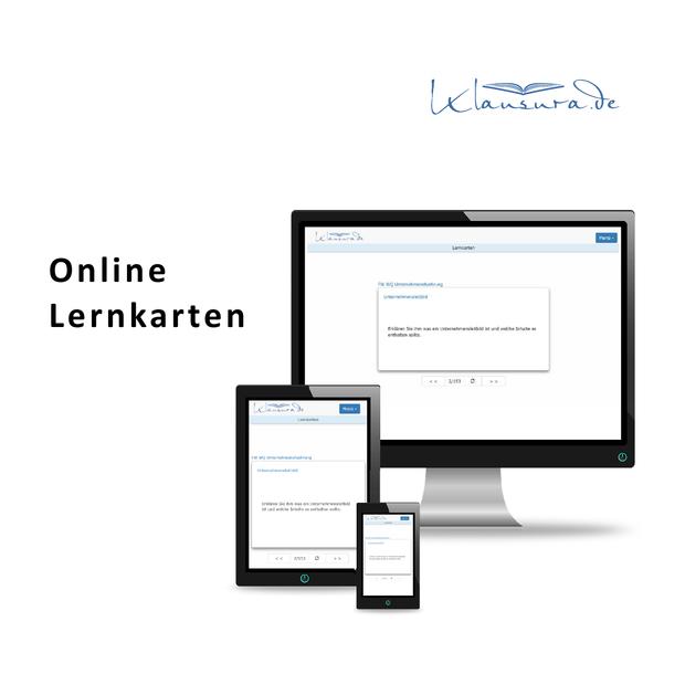 Online Lernkarten