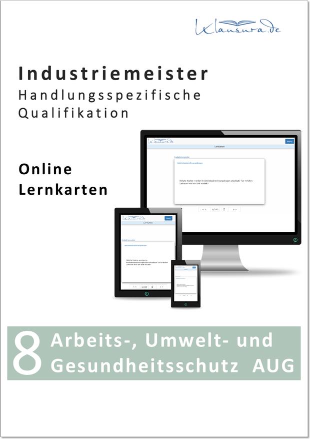 Online Lernkarten AUG Industriemeister