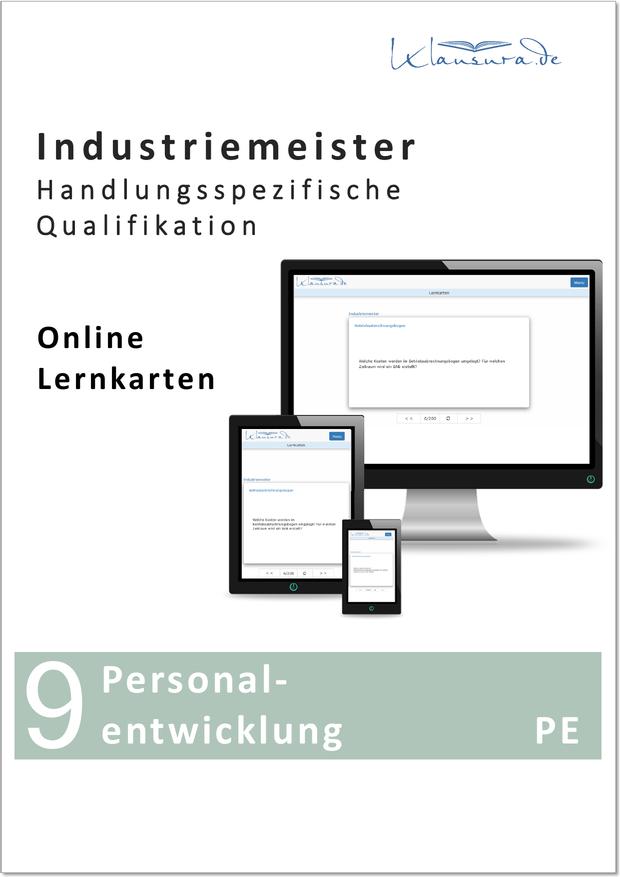Online Lernkarten PE Personalentwicklung Industriemeister