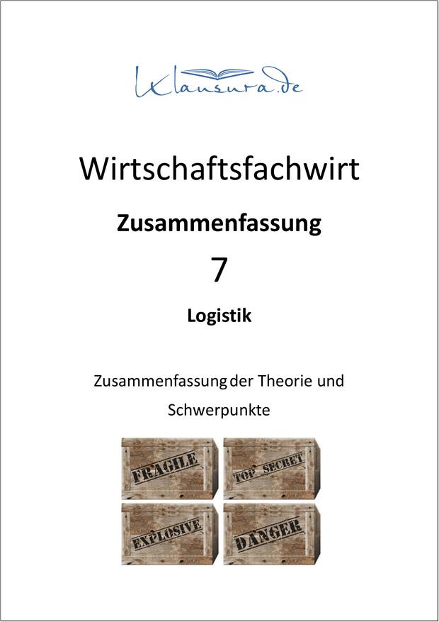 WFW-Zusammenfassung-Logistik