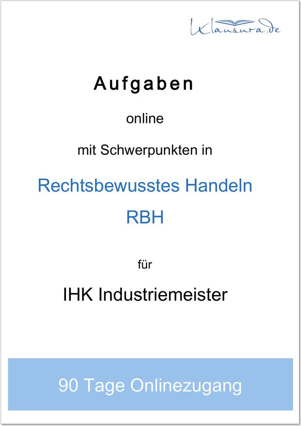 aufgaben industriemeister RBH